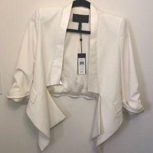 BCBGMAXAZRIA white blazer